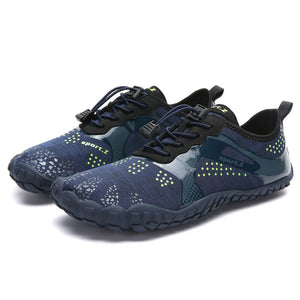 Unisex Beach Five Finger Aqua Shoes Men's Five Toes Shoes Water Shoes