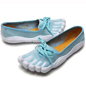 Women's Five Finger Yoga Shoes Ladies Dance Shoes Pilates Toe Shoes