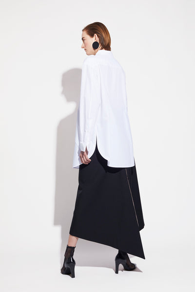 ASYMMETRIC WIDE SKIRT