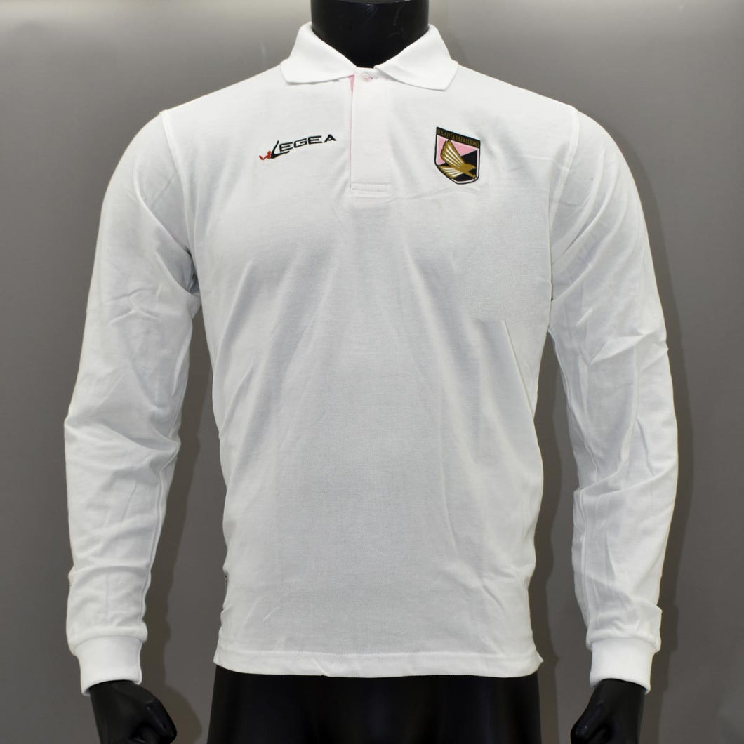 POLO RELAX BIANCO ML PALERMO STAFF PL01