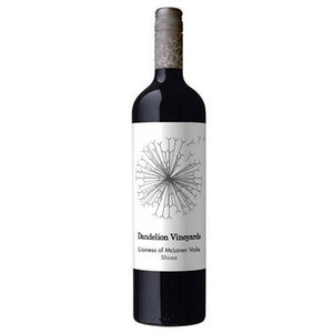 Dandelion Vineyards Lioness of McLaren Vale Shiraz 2017  14.0% 12x75cl