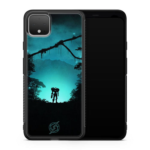 Metroid Night Art Google Pixel 4 XL Case Cover | Oramicase