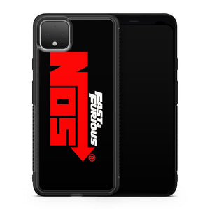 NOS Nitrous Oxide Fast and Furious Racing Film Google Pixel 4 XL Case Cover