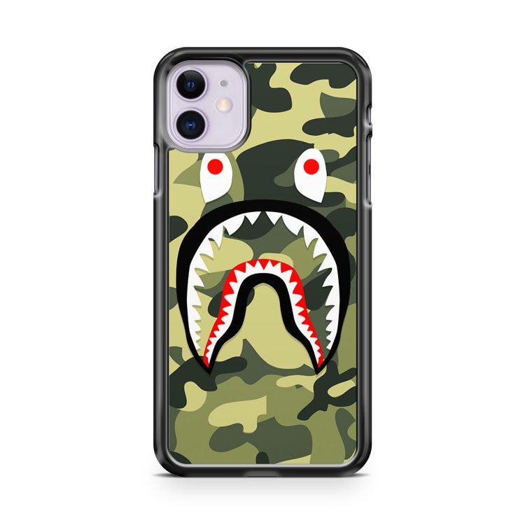 BAPE BATHING SUPREME SHARK iPhone 11 Case Cover | Oramicase