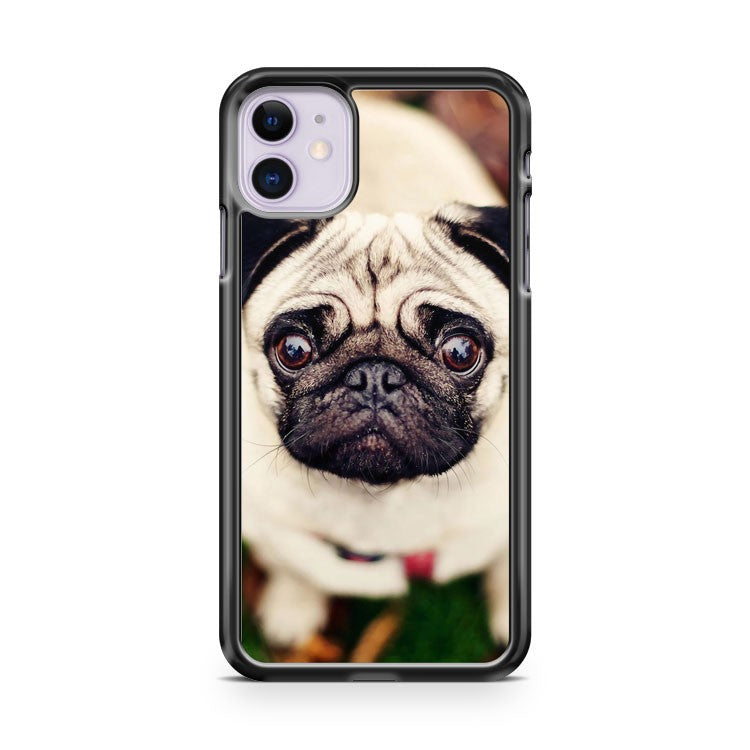BEAUTIFUL CREAM PUG iPhone 11 Case Cover | Oramicase