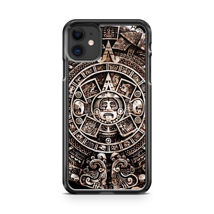 Aztec Calendar Mayan Pattern 4 iPhone 11 Case Cover | Oramicase