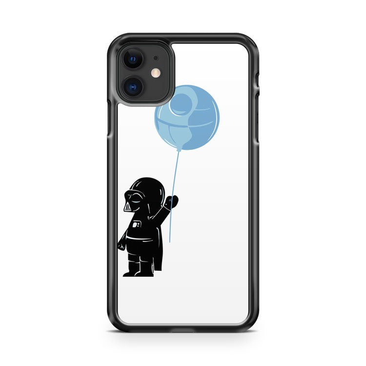 baby darth vader with ballon ip clear iPhone 11 Case Cover | Oramicase