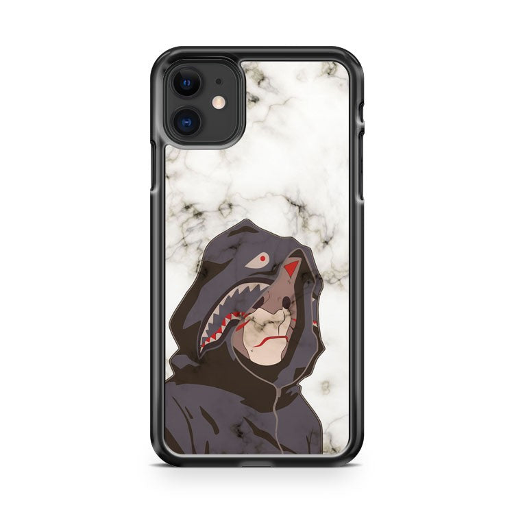 Bape Shark Anbu white marble 2 iPhone 11 Case Cover | Oramicase