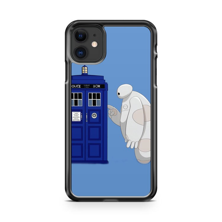 Baymax Meet Tardis 3 iPhone 11 Case Cover | Oramicase