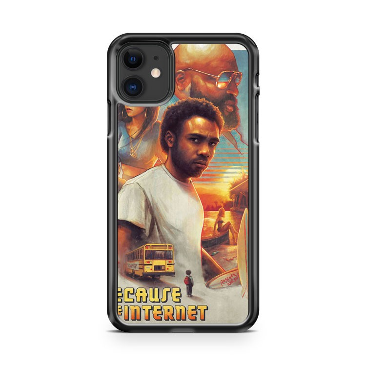 Because The Internet Poster Childish Gambino 3 iPhone 11 Case Cover | Oramicase
