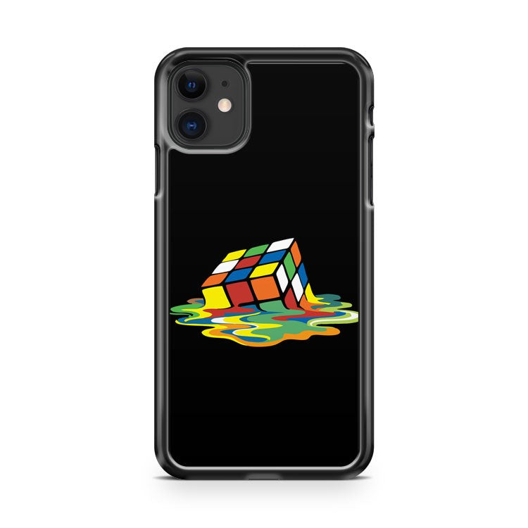 Big Bang Theory Sheldon Cooper Melting Rubik s iPhone 11 Case Cover | Oramicase