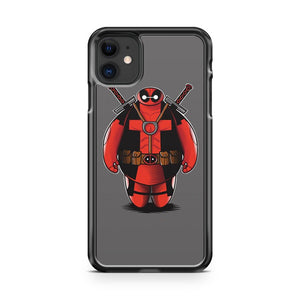 Big Deadmax 6 Deadpool Baymax 3 iPhone 11 Case Cover | Oramicase