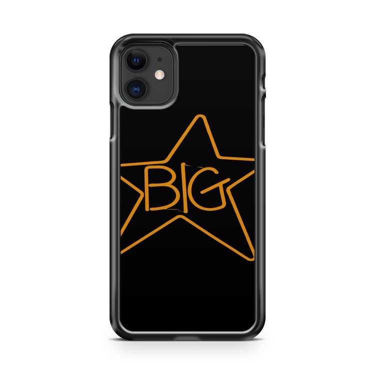 Big Star Alex Chilton 2 SR Men s Black 2 iPhone 11 Case Cover | Oramicase