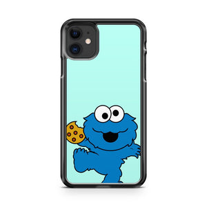 Cookie Monster TV chanel vectorized 3 iPhone 11 Case Cover | Oramicase