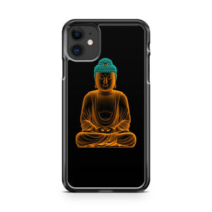 Cool Budha Neon 2 iPhone 11 Case Cover | Oramicase