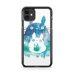 cool totoro studio ghibli art 2 iPhone 11 Case Cover | Oramicase
