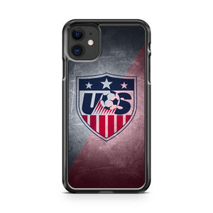 Cool USMNT logo 2 iPhone 11 Case Cover | Oramicase