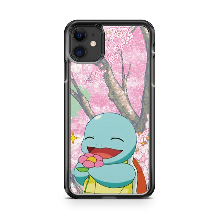 Flower Cutie Squirtle 4 iPhone 11 Case Cover | Oramicase