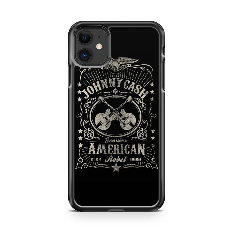 JOHNNY CASH AMERICAN REBEL 3 iPhone 11 Case Cover | Oramicase