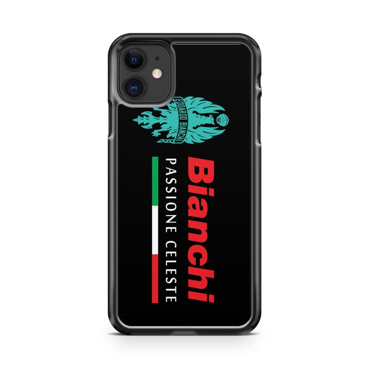 Bianchi Passione Celeste Bicycle Logo iPhone 11 Case Cover | Oramicase
