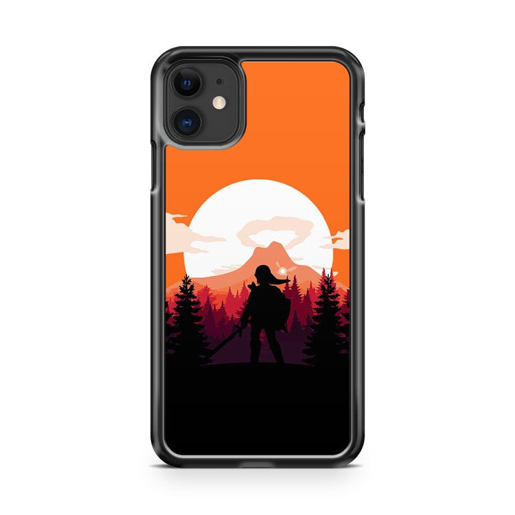 The Legend of Zelda Orange Version 2 iPhone 11 Case Cover