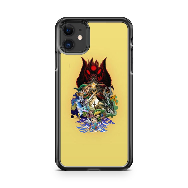the legend of zelda tattoo iPhone 11 Case Cover