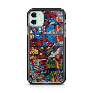 Anymode Marvel Comics Avengers 2 iPhone 11 Case Cover | Oramicase