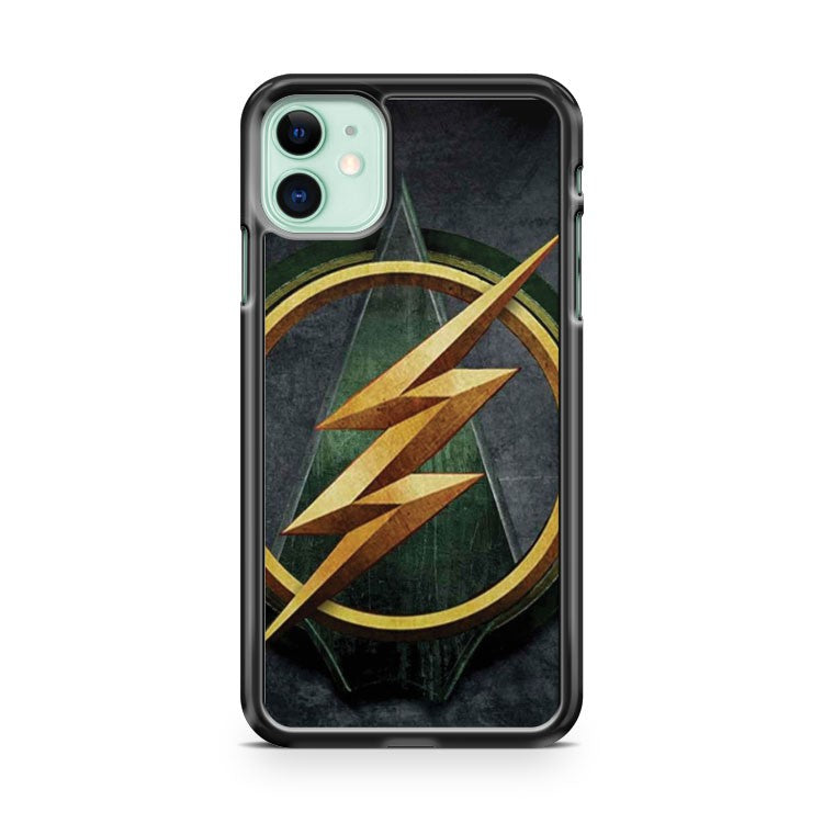 ARROW FLASH CROSSOVER 2 iPhone 11 Case Cover | Oramicase