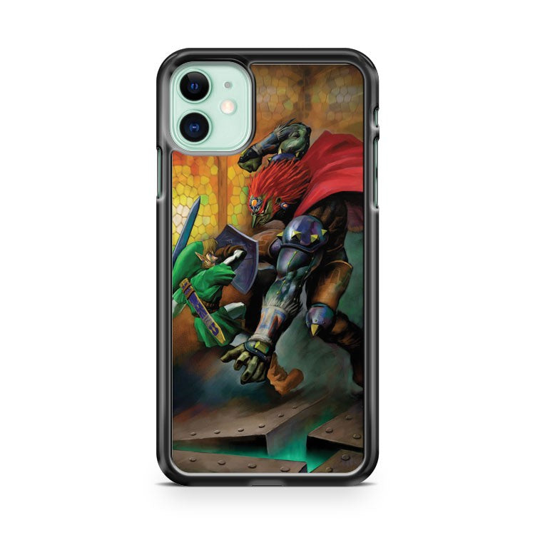 ATTACK ON GANON iPhone 11 Case Cover | Oramicase
