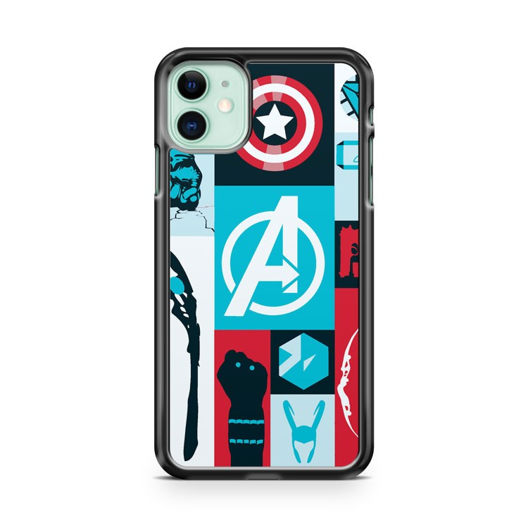 AVENGERS MINIMALIST 2 iPhone 11 Case Cover | Oramicase