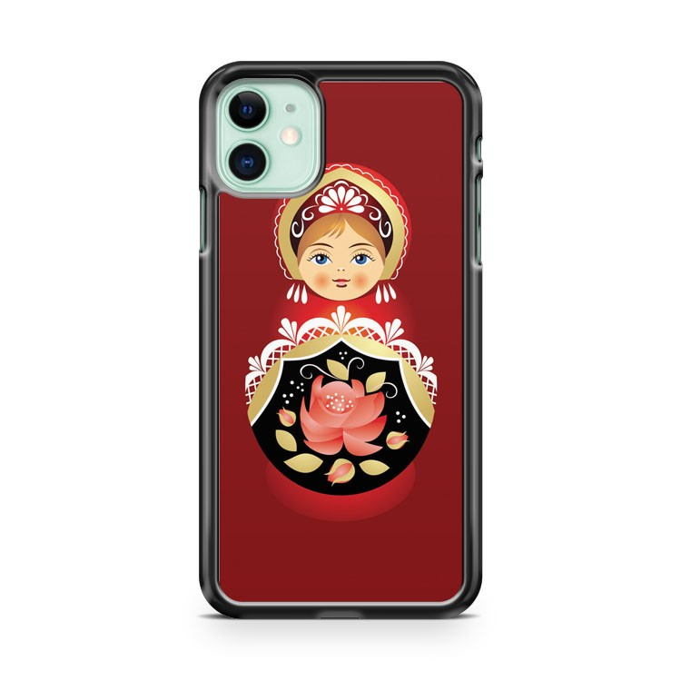 BABUSHKA MATRYOSHKA RUSSIAN DOLL iPhone 11 Case Cover | Oramicase