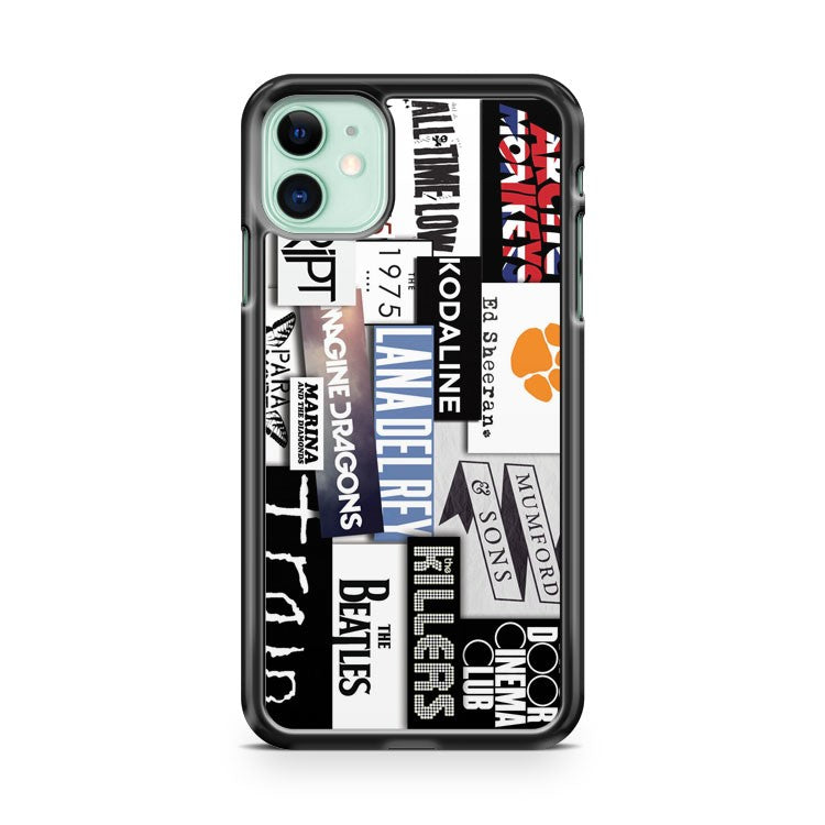 Band Logos iPhone 11 Case Cover | Oramicase