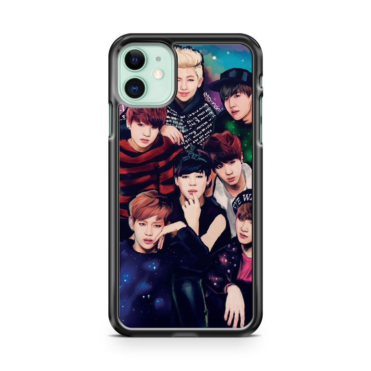 BANGTAN iPhone 11 Case Cover | Oramicase