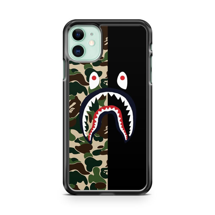 BAPESHARK and CAMO iPhone 11 Case Cover | Oramicase