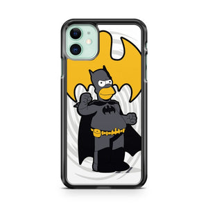 BAT HOMER THE SIMPSONS SUPERHEROES iPhone 11 Case Cover | Oramicase