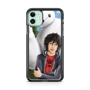 Baymax And Hiro Art iPhone 11 Case Cover | Oramicase