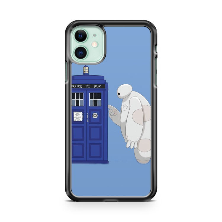 BAYMAX MEET TARDIS 2 iPhone 11 Case Cover | Oramicase