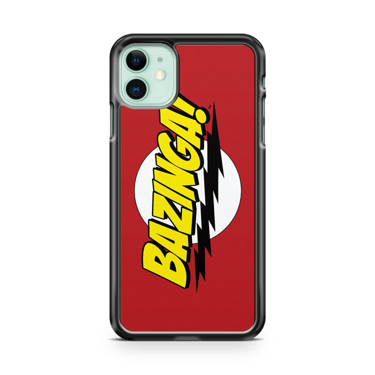 BAZINGA SHELDON COOPER VARIOUS iPhone 11 Case Cover | Oramicase