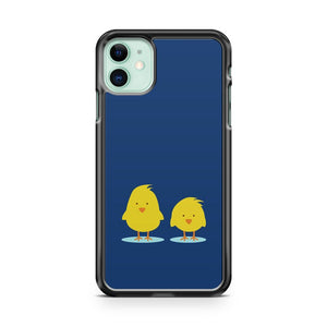 COUPLE OF CHICKENS iPhone 11 Case Cover | Oramicase