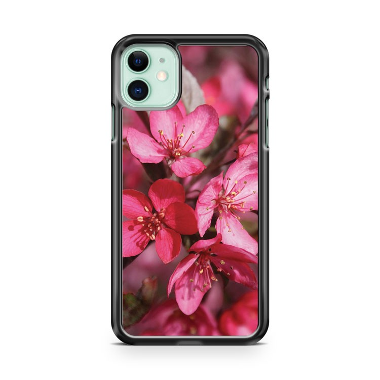 FLOWER OF CRAB APPLE iPhone 11 Case Cover | Oramicase