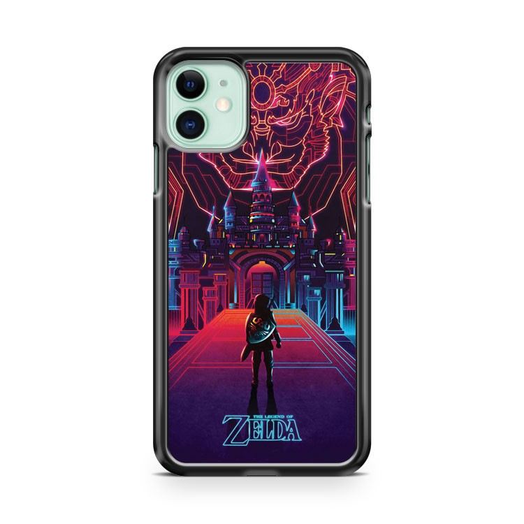 The Legend OF Zelda Majoras Mask Neon Design iPhone 11 Case Cover