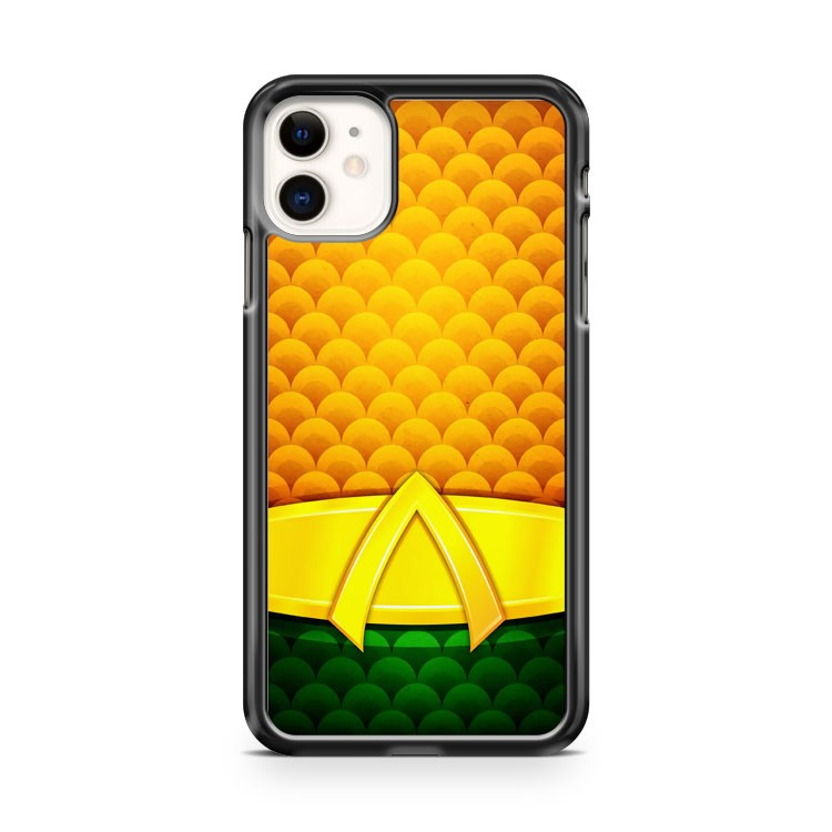 Aquaman DC Comics Minimalist iPhone 11 Case Cover | Oramicase
