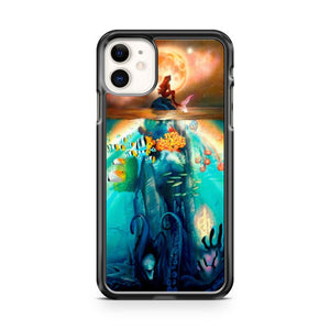 Ariel The Little Mermaid Disney Princess iPhone 11 Case Cover | Oramicase