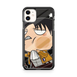 Attack on Titan Levi Funny S8 3D iPhone 11 Case Cover | Oramicase