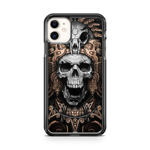 Aztec Mysterious Skull iPhone 11 Case Cover | Oramicase