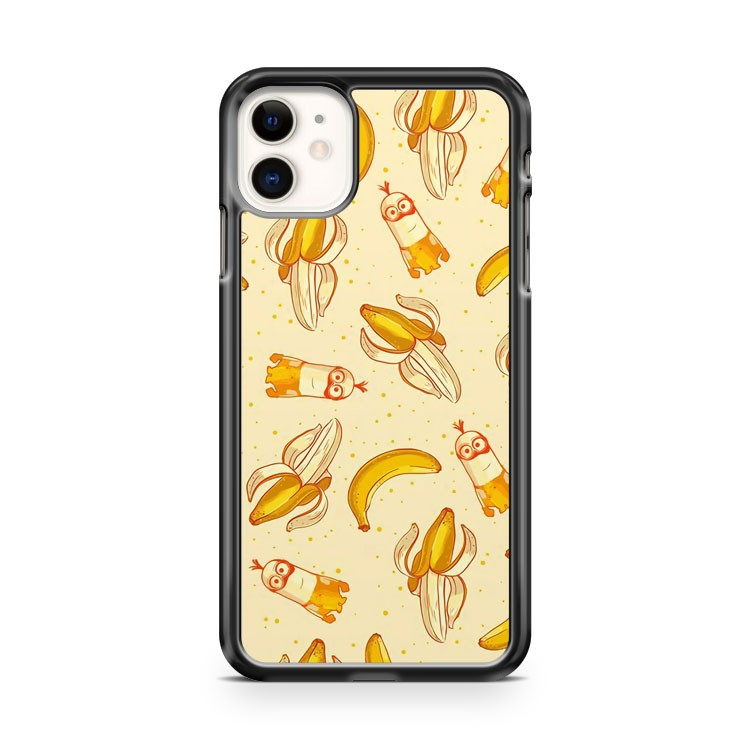 Banana Cute Minions Funny Cool Yellow iPhone 11 Case Cover | Oramicase