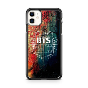 BANGTAN BOYS BTS KPOP LOGO iPhone 11 Case Cover | Oramicase