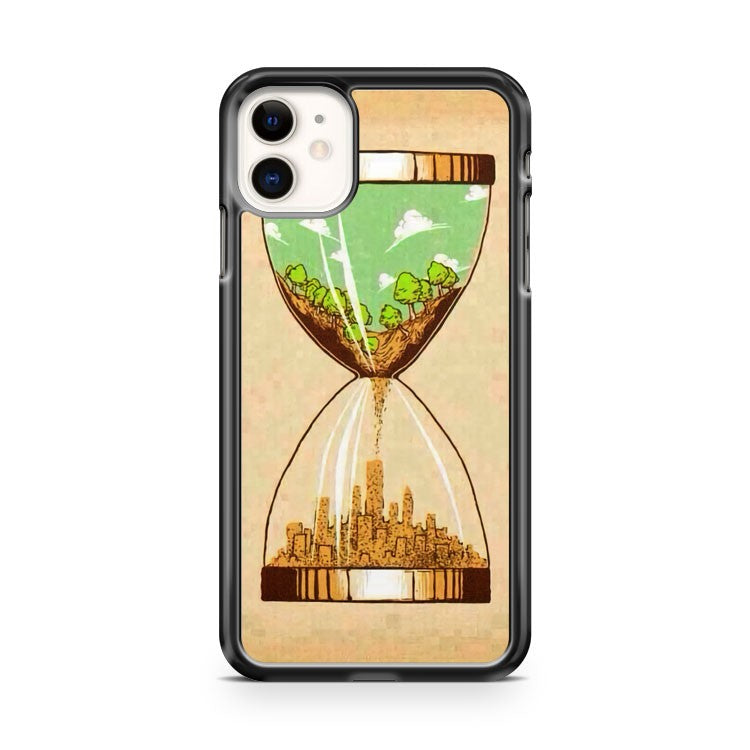 Banksys earth day piece iPhone 11 Case Cover | Oramicase