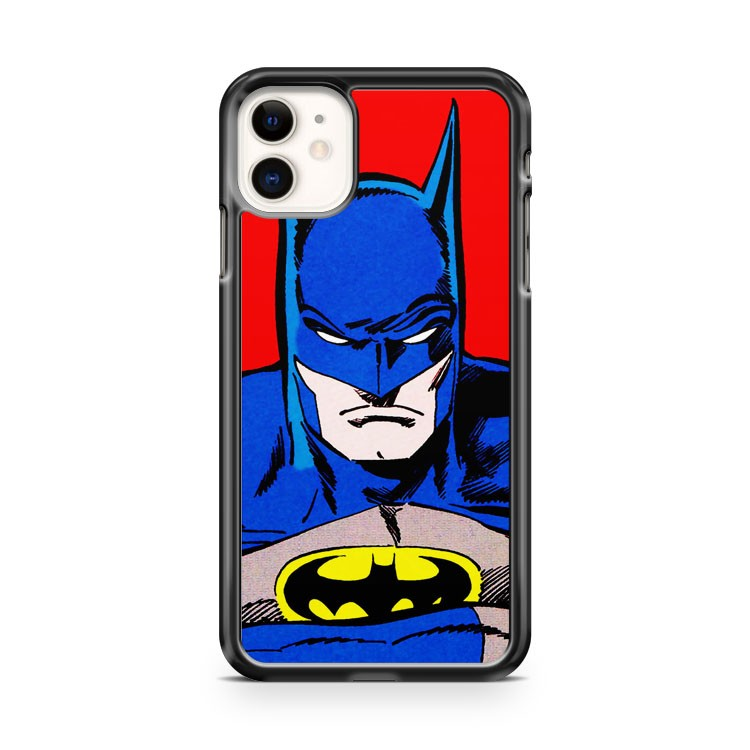 batman poster Pop Art dc comic iPhone 11 Case Cover | Oramicase