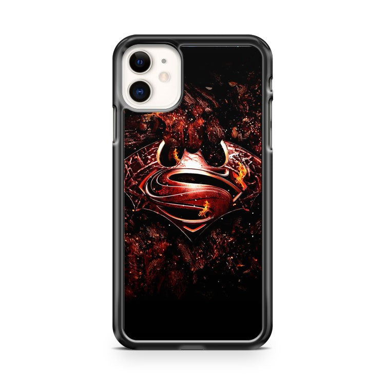 Batman Vs Superman Logo iPhone 11 Case Cover | Oramicase